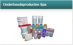 Onderhoudsproducten spa